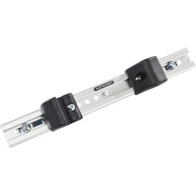 Pletscher U-lukon runkokiinnike tavaratelineisiin , musta/hopea